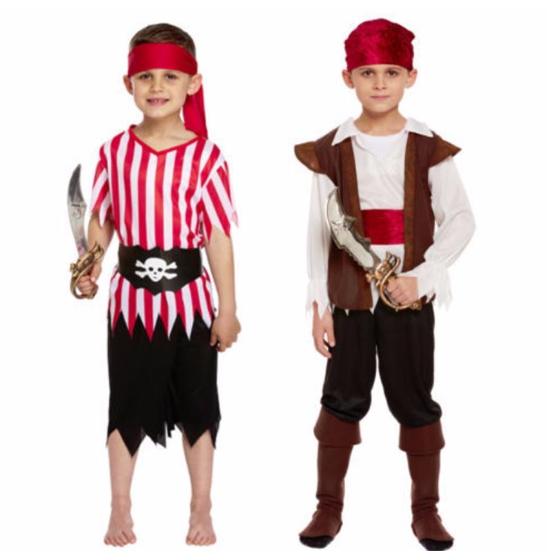도매 어린이 해적 의상