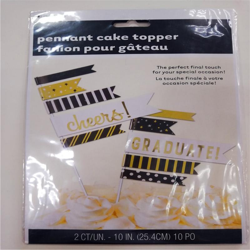 페넌트 케이크 토퍼 깃발 fanion pour gateau