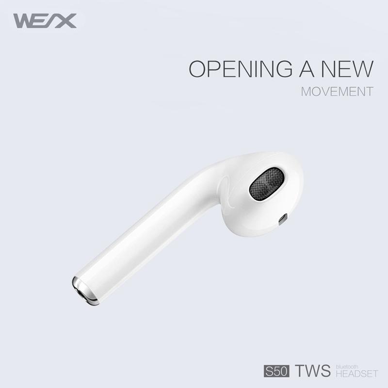 WEX S50 TWS 이어폰, 진정한 무선 스테레오 이어폰