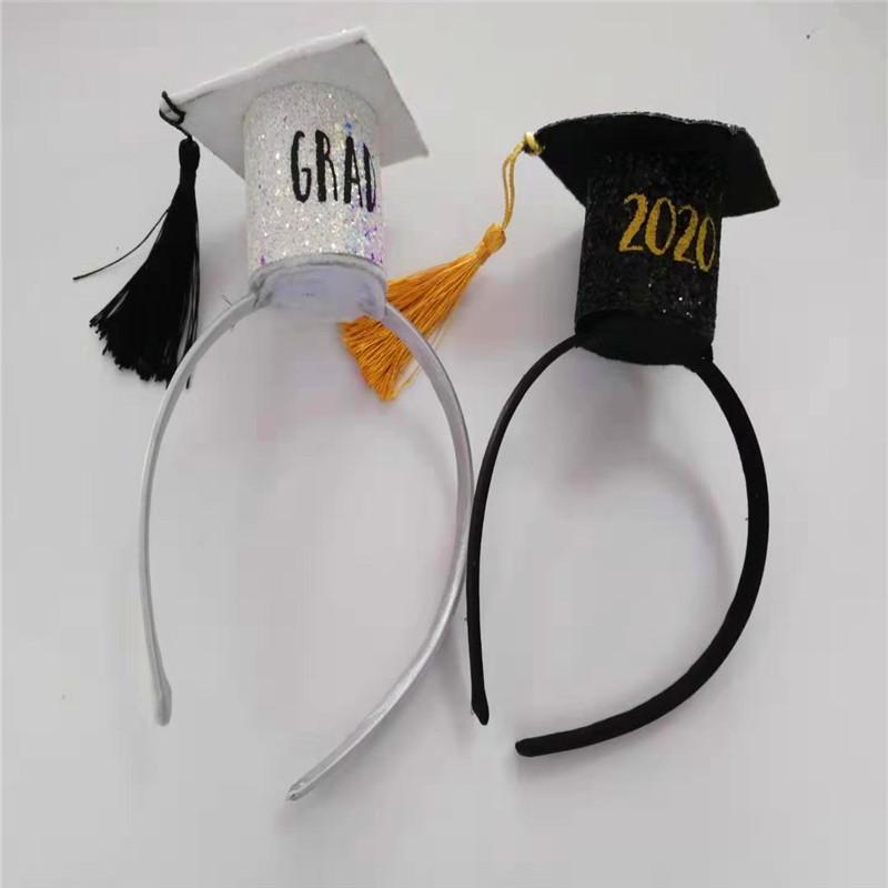 졸업 시즌 파티 여름 휴가 모자와 모자