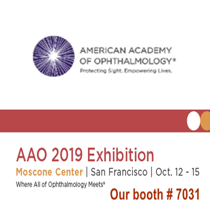 AAO 2019 전시회에 오신 것을 환영합니다