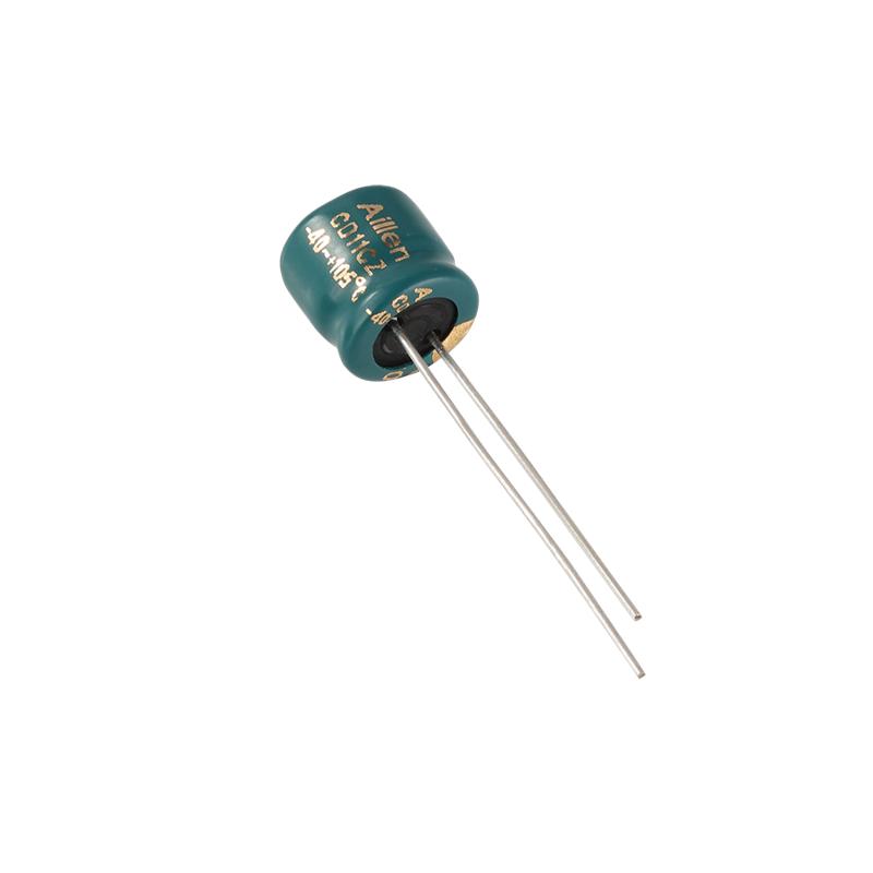 CD11EZ 플러그인 알루미늄 전해 커패시터