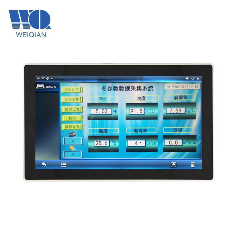 산업 터치 스크린 PC를 제조하는 15.6 인치 인조 인간 Qresistance 터치 스크린