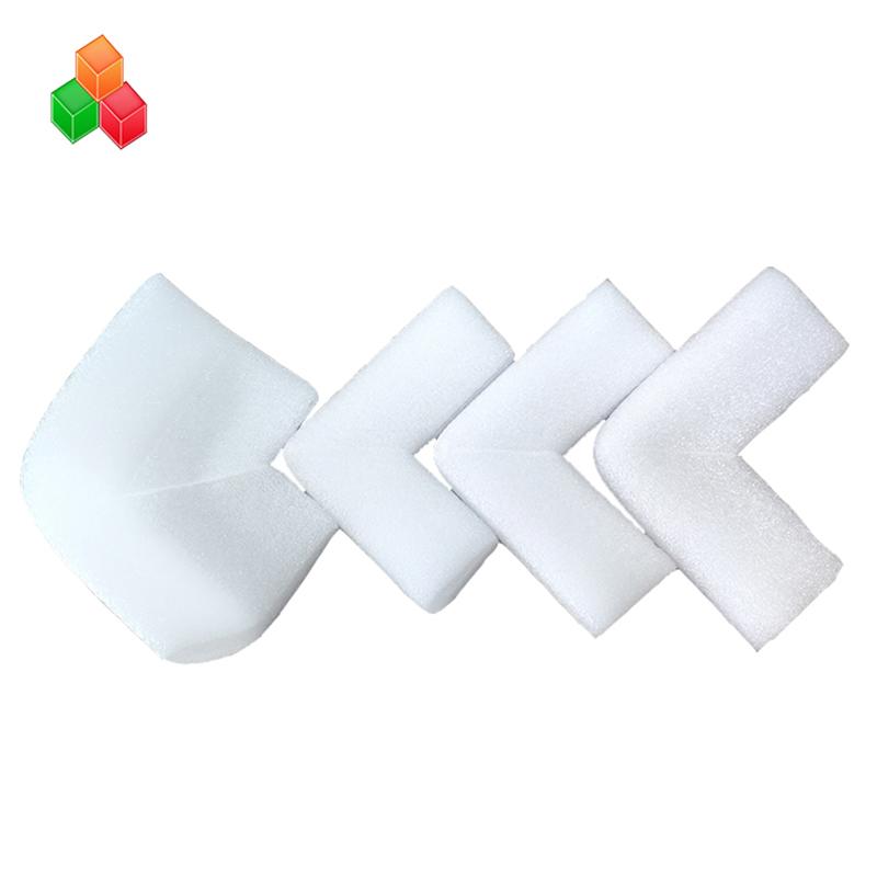 도매 사용자 정의 충격 방지 고밀도 epe 폼 가장자리 코너 보호 재료 가구 / 기계 배송 포장