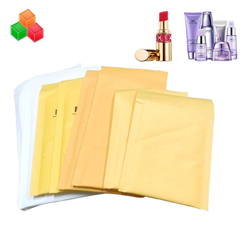 내구성 사용자 정의 크기 안전 충격 방지 크래프트 종이 거품 가방 우편물 패딩 배송 봉투 크래프트 종이 에어백