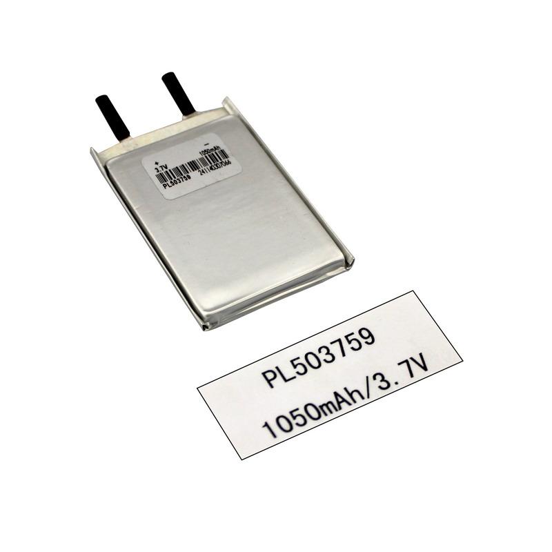 3.7V 리튬 이온 Lipo 중합체 1050mAh 디지털 방식으로 제품 건전지