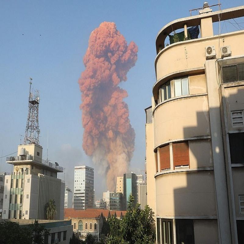 베이루트에서의 폭발